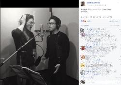 山田孝之と赤西仁のエイプリルフール画像