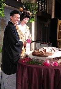 柳原直之結婚式画像