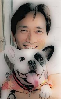 矢島健一とサンタ画像