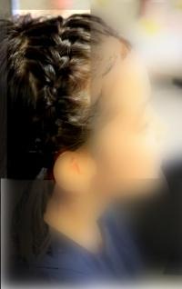 卒業式の髪型(小学校)ロングの簡単なアレンジ法2018