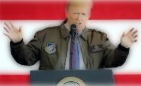 トランプ大統領ジャケット画像