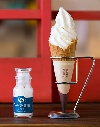 塩ソフトクリーム画像