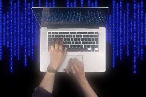コンピュータウイルスイメージ画像