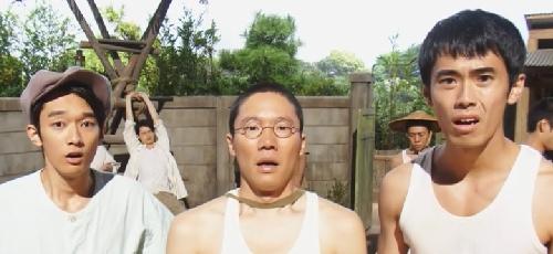 塩軍団タカを慕う3人画像