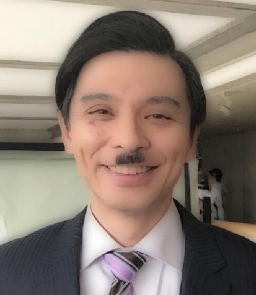 ちょび髭ー瀧川英次画像
