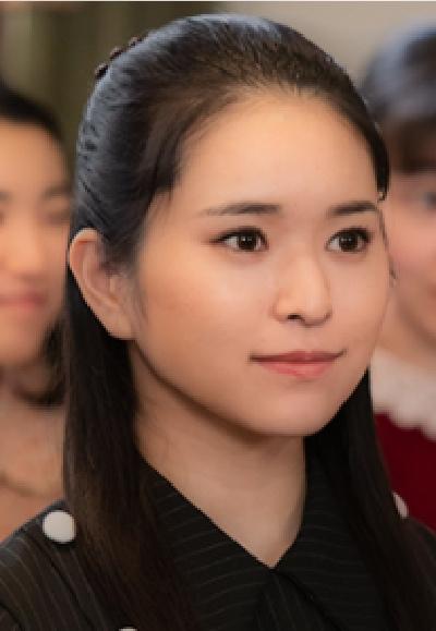 エール夏目千鶴子役小南満佑子画像